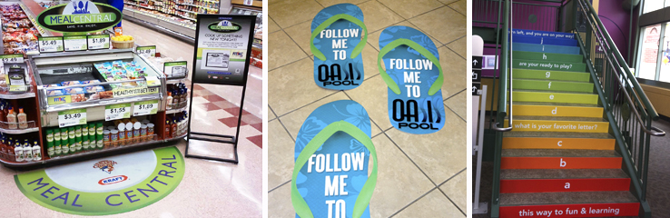 adhesive floor graphics